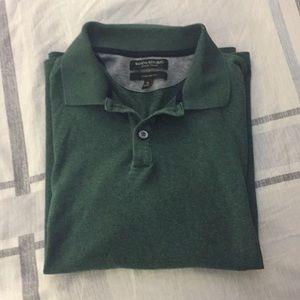 Men's Dark Green Polo